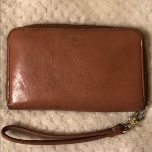 Authentic Fossil Wristlet (circa 2013)